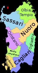 Sardegna province